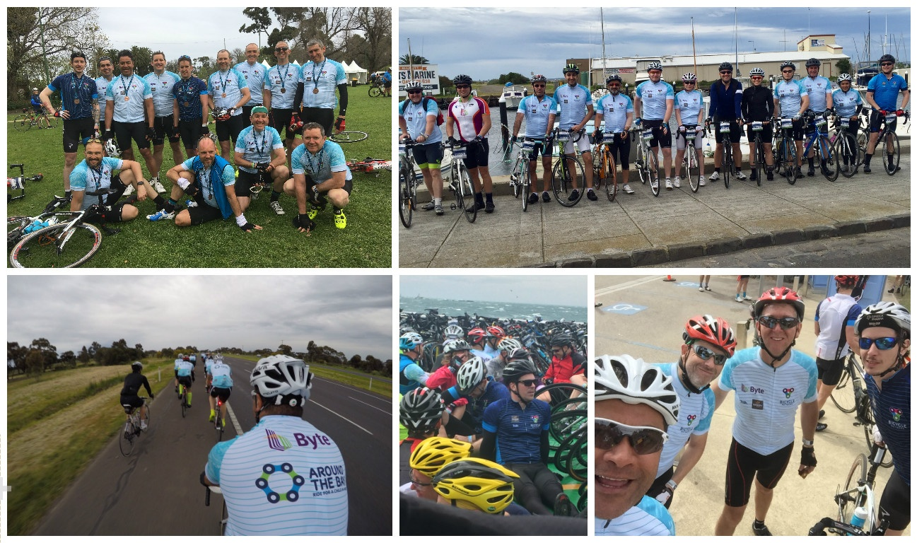 Byte Around The Bay Charity cycling