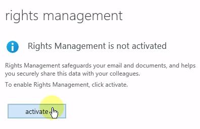 Right Management activation 1
