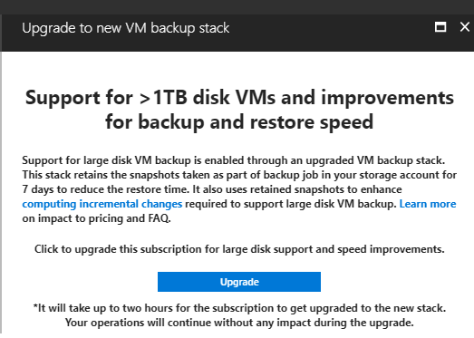 Support for 1TB disk VMs